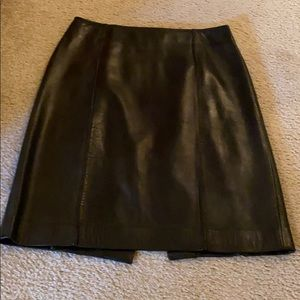 Buttery soft Cache' Leather Skirt